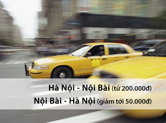 Bảng giá taxi Nội Bài cập nhật mới nhất năm 2014