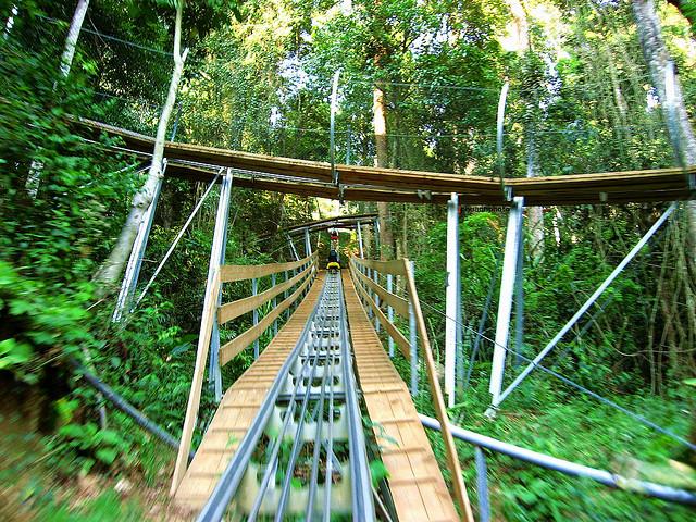 Những trải nghiệm thú vị tại thác Datanla, Đà Lạt