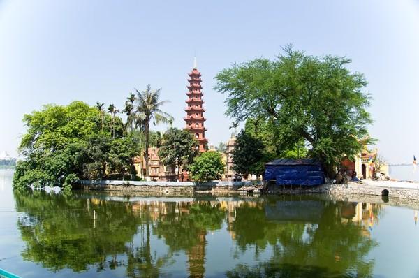 Chùa Trấn Quốc - Tây Hồ, Hà Nội