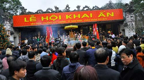 Khai ấn Đền Trần, Nam Định