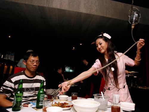 Nhà hàng chủ đề bệnh viện tại Đài Loan
