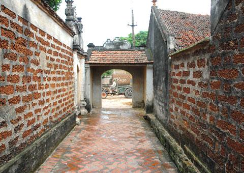 Làng cổ Đường Lâm, Sơn Tây