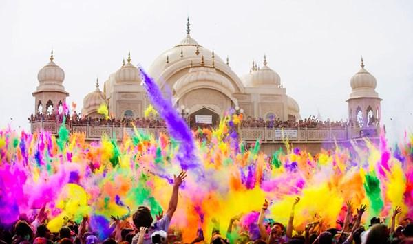 Lễ hội Holi, Ấn Độ